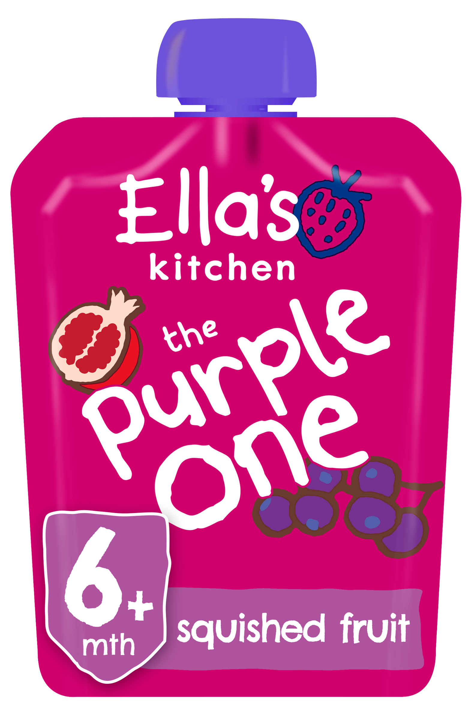 Ellas kitchen The Purple one product front of pack O